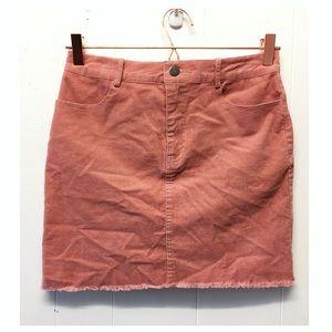 Anthropologie | Etophe Studios Pink Hi-Rise Skirt